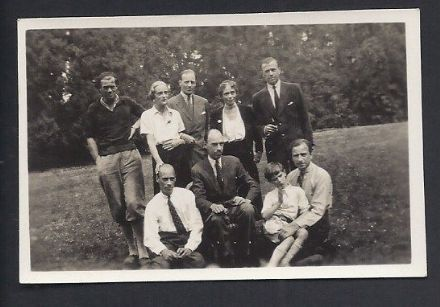 Grand Duchess Xenia Romanov of Imperial Russia & Family Reunion Frogmore Cottage 1936